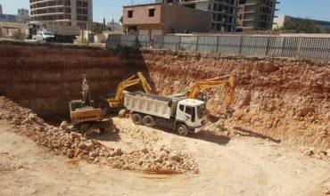 بداية أعمال الحفر في مشروع سما وهران